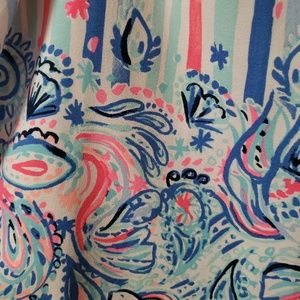 LILLY Pulitzer   skirt size 10 pink tag